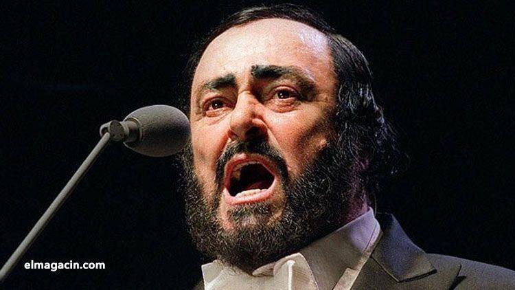 Luciano Pavarotti. El Magacín.