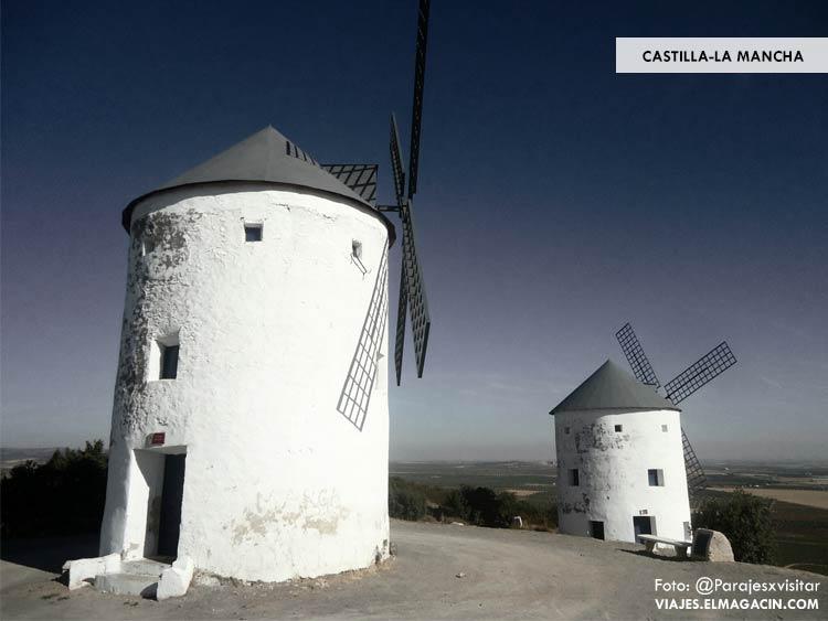 Castilla-La Mancha Molinos de El Quijote. El Magacín.