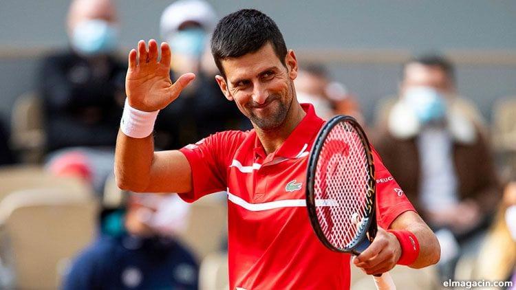 Novak Djokovic. Uno de los 20 deportistas que más dinero tiene.