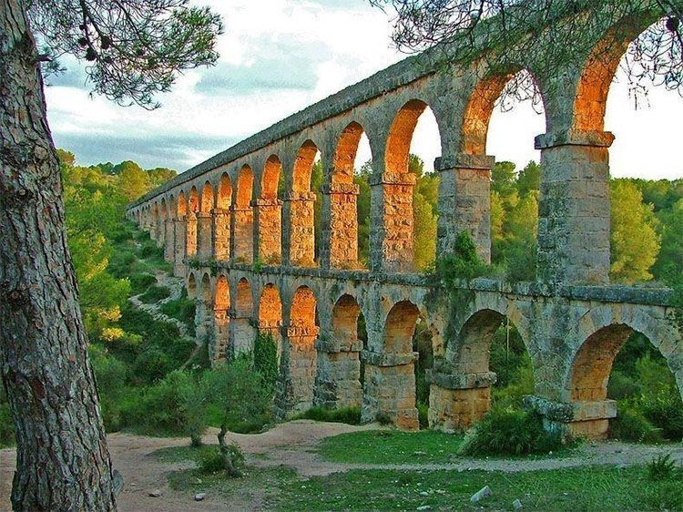 Acueducto romano de Tarraco, llamado Puente del Diablo (Pont del Diable)