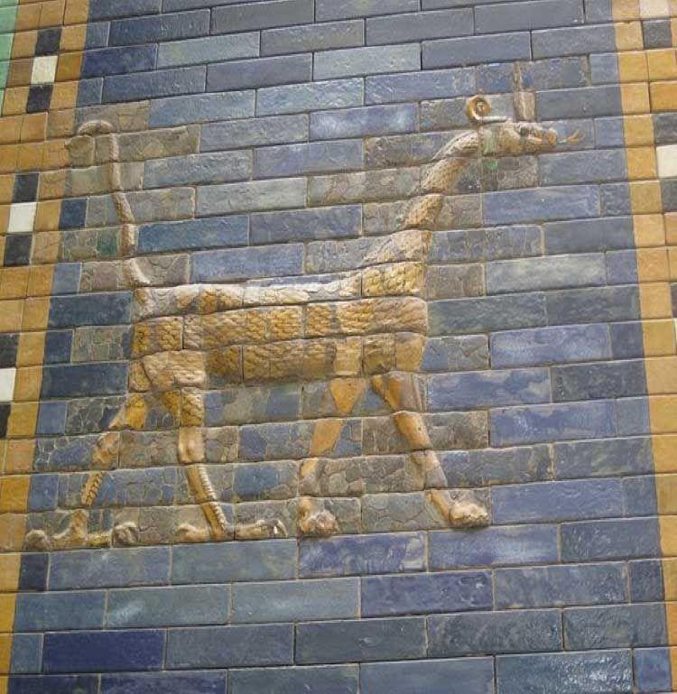 Puerta de Ishtar.