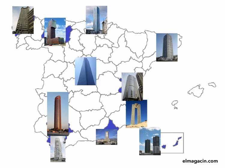 Rascacielos en España. El Magacín.
