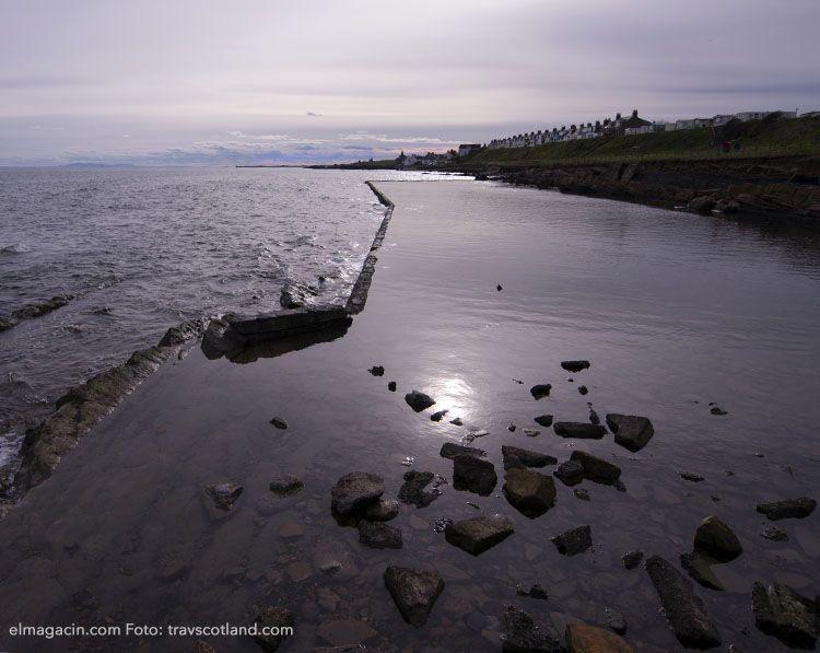 Reflejo de Saint Monans, Escocia. El Magacín