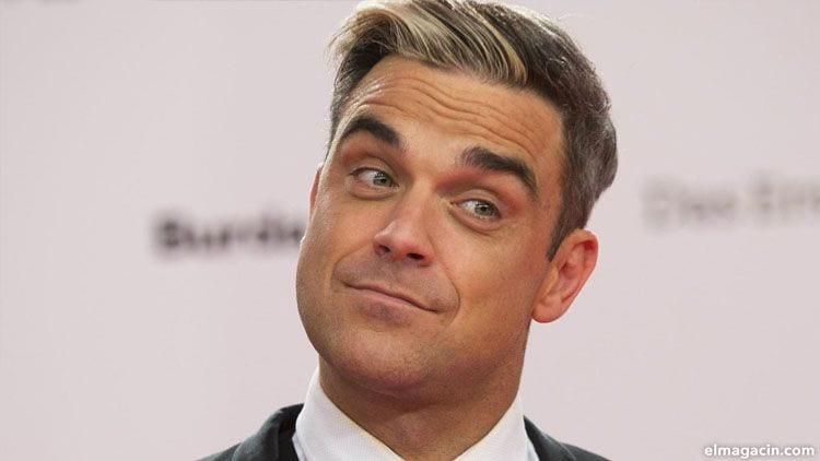 Robbie Williams. El más famoso de los cantantes hombres guapos británicos