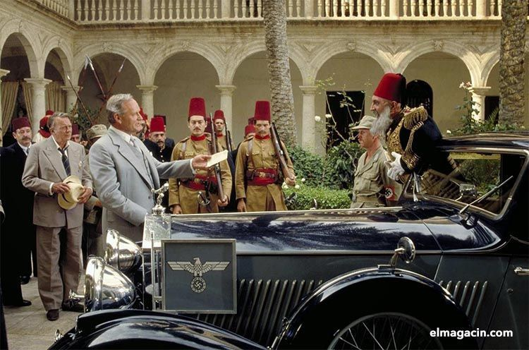 Rodaje de Indiana Jones y la última cruzada. El Magacín.