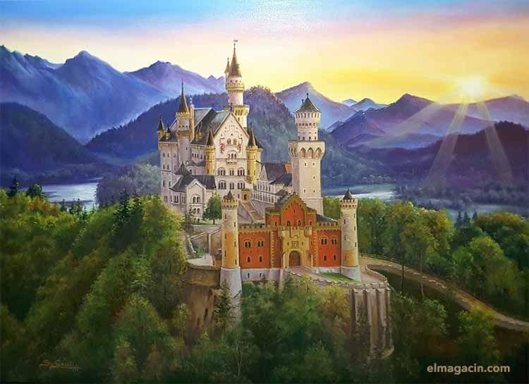 Santi García Cánovas. Castillo de Neuschwanstein. El Magacín.