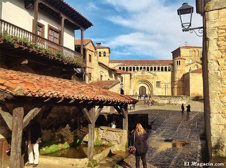 Santillana del Mar (Cantabria). Los 20 pueblos más bonitos de España.