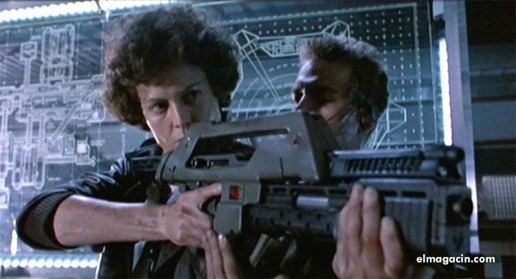 Sigourney Weaver en Alien. El Magacín.