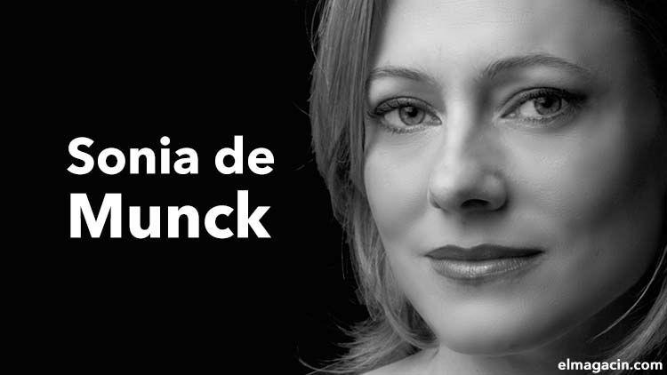 Sonia de Munck cantante del teatro de la Zarzuela