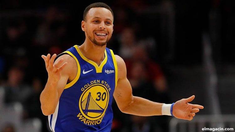 Stephen Curry. Uno de los Los 20 deportistas mejor pagados del mundo en 2020