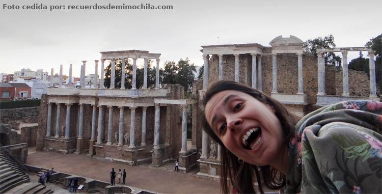 Teatro romano de Mérida. El Magacín..