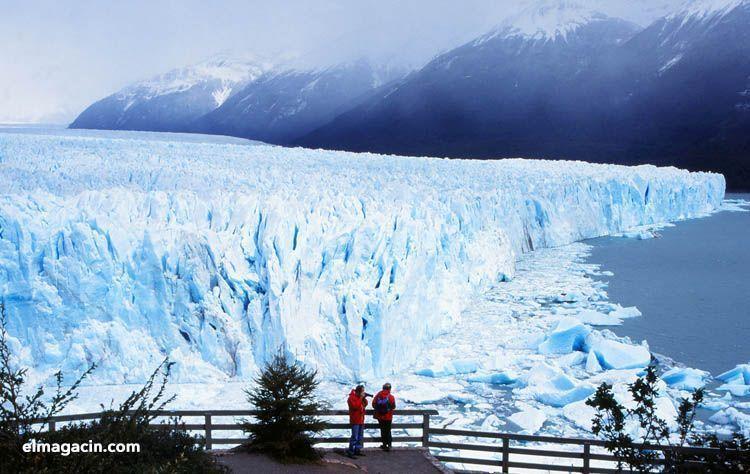 Glaciares en Tierra de Fuego. El Magacín.