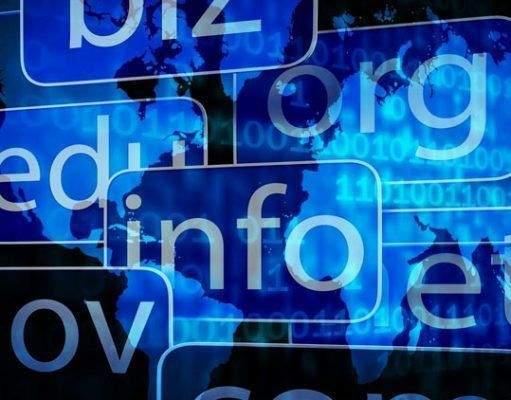 Tipos de dominio web en internet