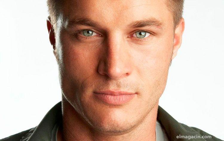 Ragnar actor Travis Fimmel. El Magacín.