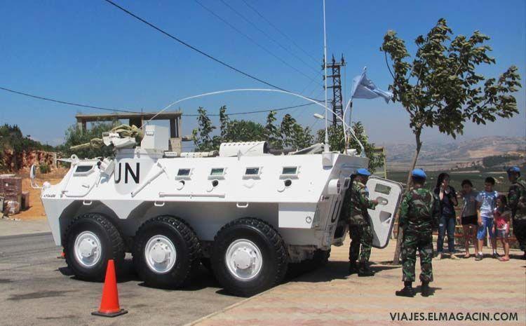 Tropas de la ONU en el Líbano. El Magacín.