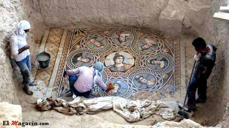 Yacimiento arqueológico en una ciudad griega de Turquía. El Magacín.