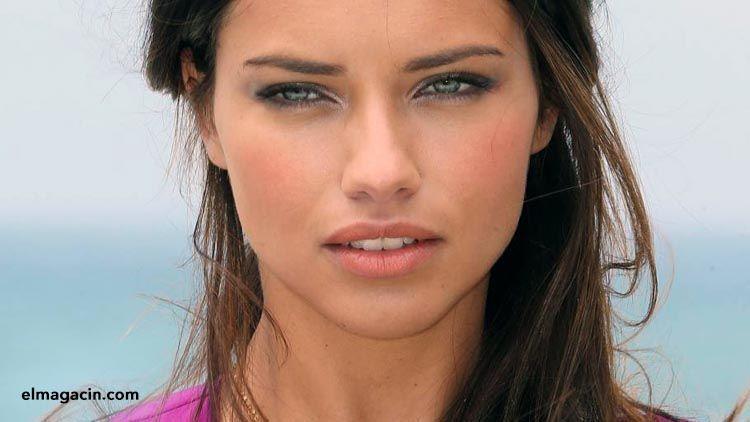 Adriana Lima, la mujer más guapa del mundo. El Magacín.