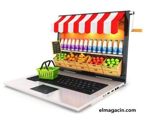 La alimentación es el sector con mayor crecimiento en e-commerce.