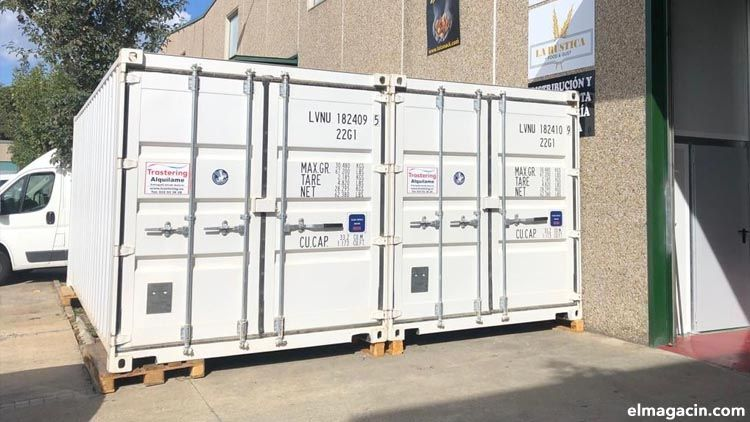Alquilar contenedor de almacenaje para ser más eficiente