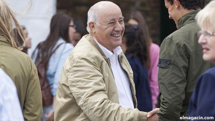 Amancio Ortega, el cuarto más rico del mundo y más rico de España