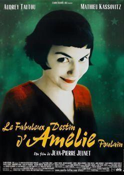 El fabuloso destino de Amélie Poulain (2001). Películas francesas rodadas en París
