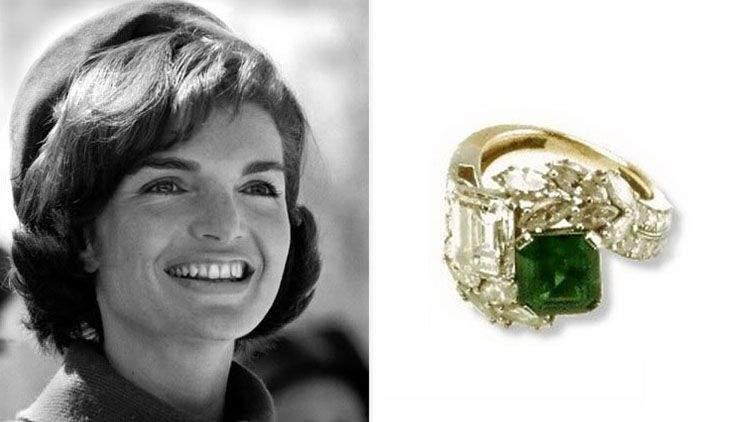 Anillo de compromiso de Jackie Kennedy