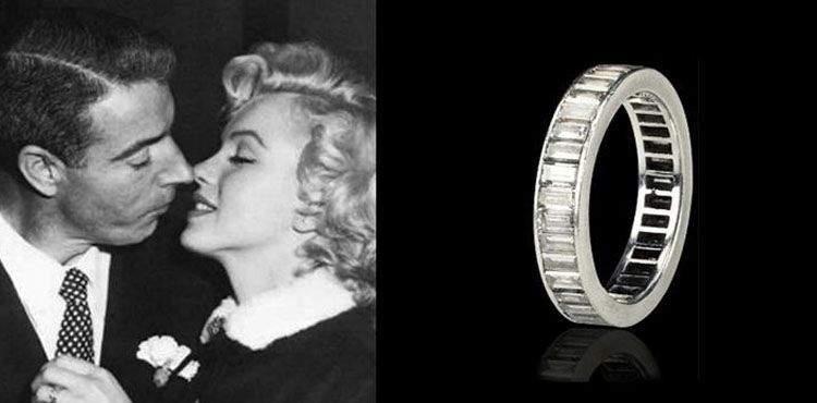 Anillo de Marilyn Monroe