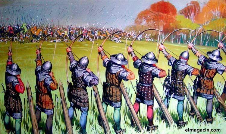 En los arqueros medievales nació el gesto de enseñar dos dedos en Inglaterra.