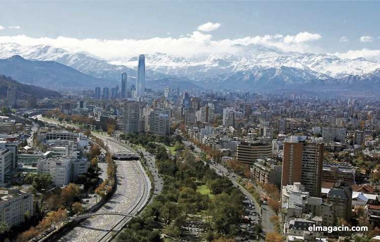 Avenida Providencia. Santiago de Chile. El Magacín.