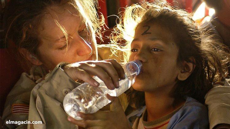 Ayuda humanitaria a refugiados sirios. El Magacín.