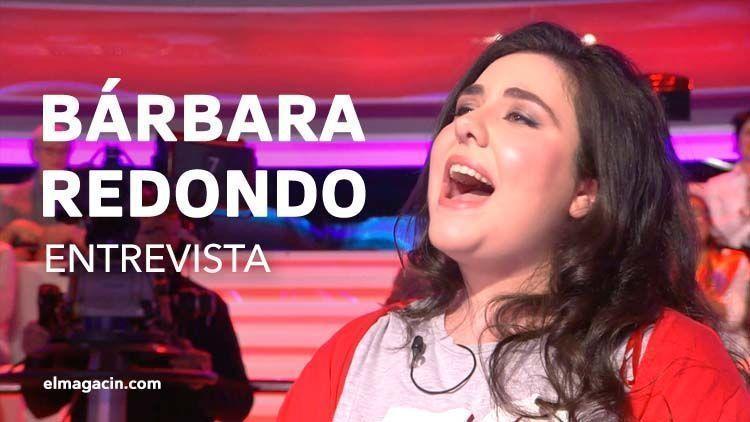 "Entrevista a Bárbara Redondo cantante de ""Tu cara no me suena todavía"". el Magacín."