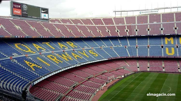 El Barça quedaría fuera de la liga tras la independencia. El Magacín.