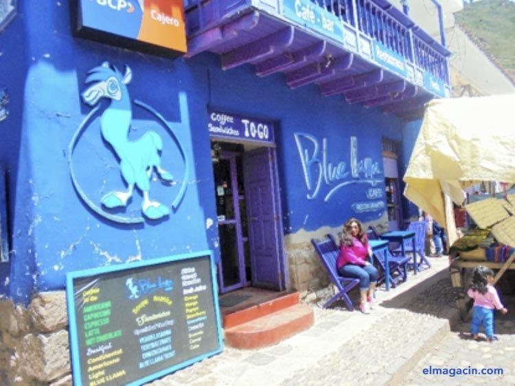 Restaurante Blue Llama. El Magacín.