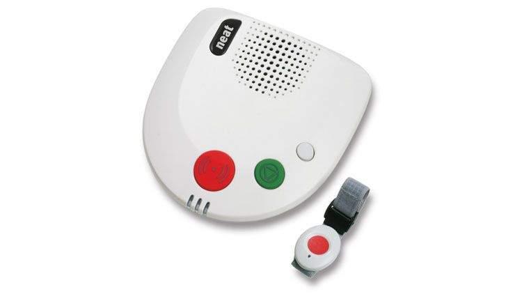 Botón de teleasistencia de emergencia para ancianos