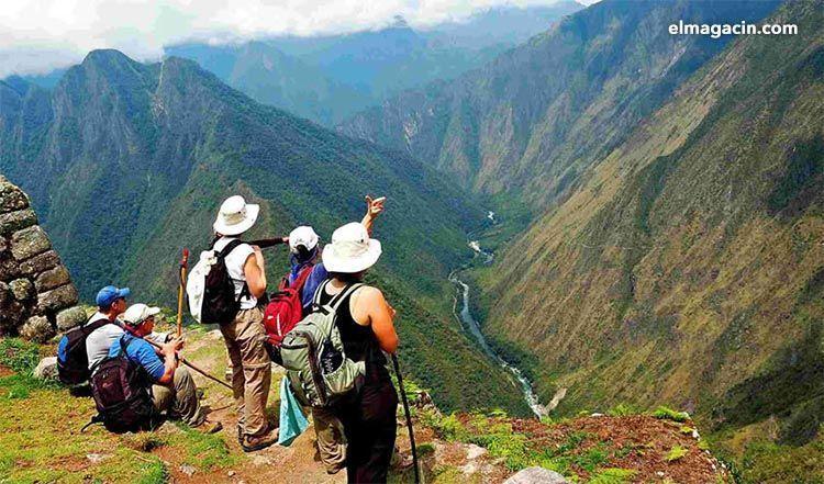 Camino del Inca desde Cuzco. El Magacín.