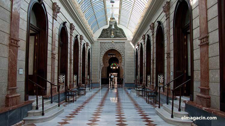 El casino más antiguo de España. El Magacín.