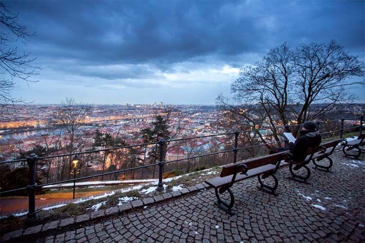 Colina Petrin en Praga. El Magacín.