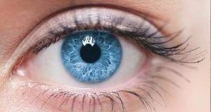 Color del iris y el color de los ojos