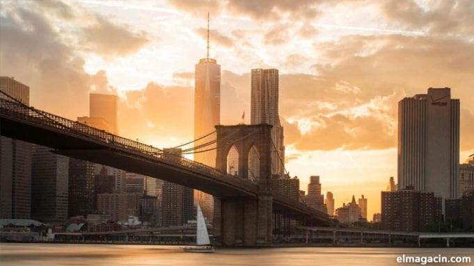 Puesta de sol en Nueva York