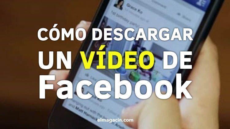 Cómo descargar un vídeo de Facebook o Streamcloud