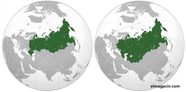 Comparación entre la Unión Soviética y Rusia actual. El Magacín.
