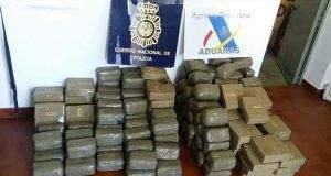 Hachís, la droga más consumida en España en 2021