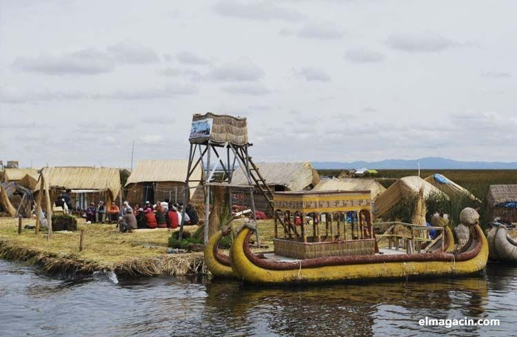 Lago Titicaca en la Copacabana boliviana. El Magacín.