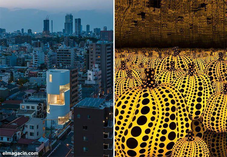 Cosas que hacer en Tokio. Museo Yayoi Kusama