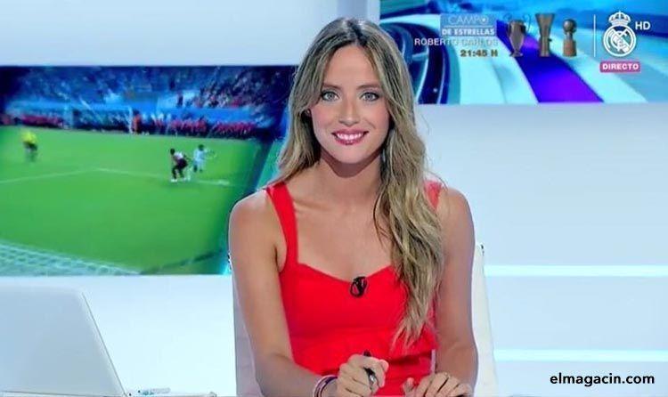 Cristina Gullón, presentadora de Real Madrid televisión