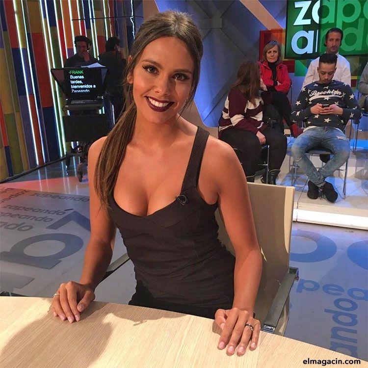 Presentadora de Zapeando y las campanadas Cristina Pedroche.