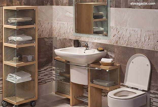 Muebles para el cuarto de baño. El Magacín.