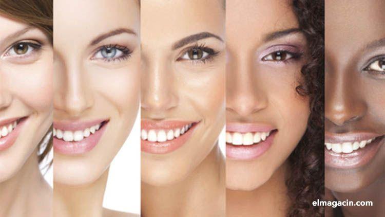 Diferentes tipos de piel en chicas jóvenes desnudas. El Magacín.