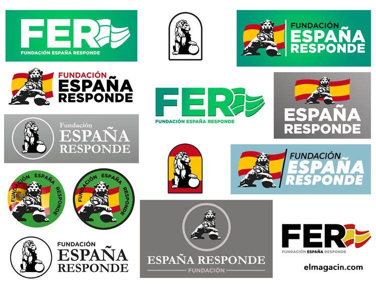 Diseños encargados y descartados por Opazo para España Responde.