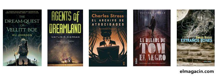 Libros de Lovecraft. El Magacín.